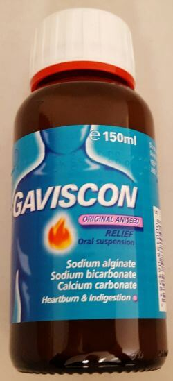 Gaviscon Original Liquid Aniseed 150ml