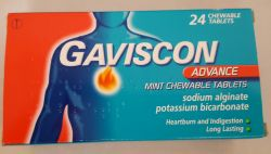 Gaviscon Advance Mint Chewable Tablets 24's
