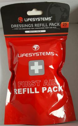 Lifesystems Dressings Refill Pack 25 Piece