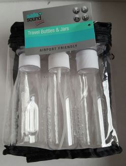 Travel Bottles & Jars