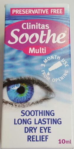 Clinitas Soothe Multi Preservative Free 10ml