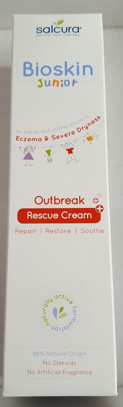 Salcura Bioskin Junior Outbreak Rescue Cream 150ml