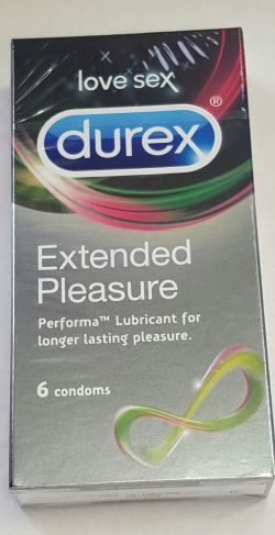 Durex Extended Pleasure 6 Condoms