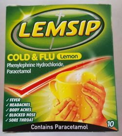 Lemsip Cold & Flu Lemon Sachets 10's