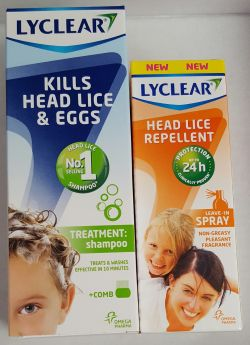 Lyclear Repellent & Treatment Shampoo Pack