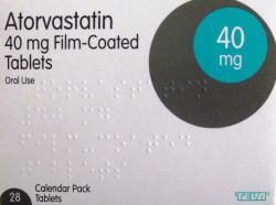 Atorvastatin 40mg 84 Tablets