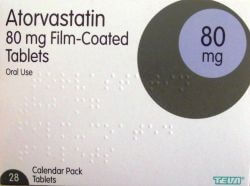 Atorvastatin 80mg 28 Tablets