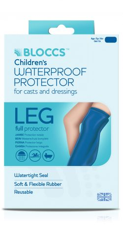 Bloccs Child Full Leg Waterproof Protector Age 4-9 Years