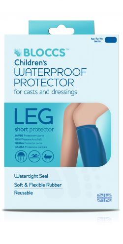 Bloccs Child Short Leg Waterproof Protector Age 10-14 Years