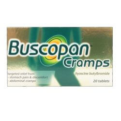 Buscopan Cramps 20 Tablets