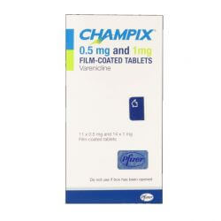 Champix (Varenicline) 0.5mg/1mg 25 Tablet Starter Pack