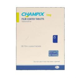 Champix (Varenicline) 1mg 56 Tablets
