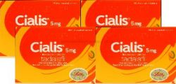 Cialis (Tadalafil) 5mg 112 Tablets