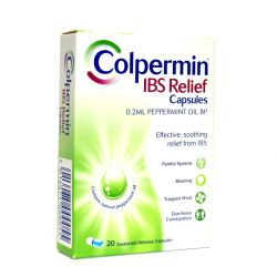 Colpermin IBS relief 20 Caps (peppermint oil)