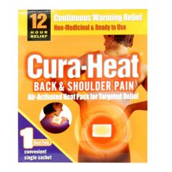 Cura-Heat Back & Shoulder Pain 1 Heat Pack