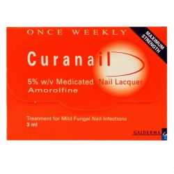 Curanail 5% Medicated Nail Lacquer