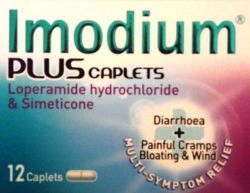 Imodium Plus 12 Caplets