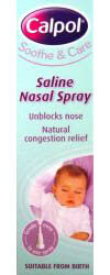 Calpol Saline Nasal Spray 15ml