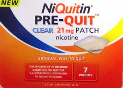 NiQuitin Pre-Quit Clear 21mg 7 Patches