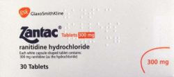 Zantac (Ranitidine) 300mg 30 Tablets