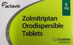 Zolmitriptan 5mg 6 Orodispersible Tablets