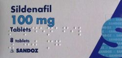 Sildenafil (Sandoz) 100mg 8 Tablets