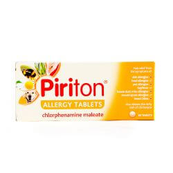 Piriton Allergy (Chlorphenamine) 60 Tablets