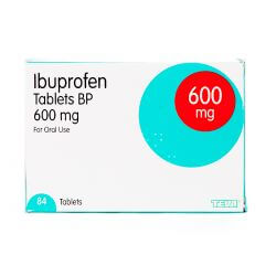 Ibuprofen 600mg 84 Tablets