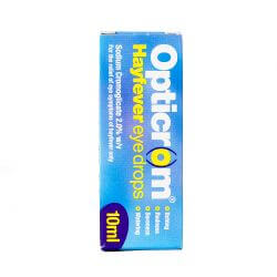 Opticrom Hayfever Eye Drops 10ml