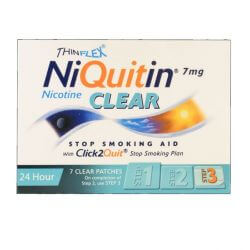 NiQuitin Clear 7mg 7 Patches