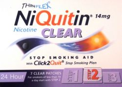 NiQuitin Clear 14mg 7 Patches