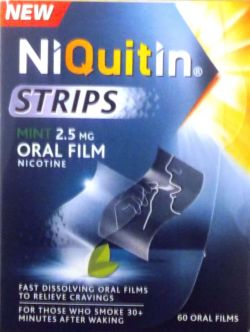 NiQuitin Strips Mint 2.5mg 60's