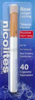 Nicolites Disposable 16mg 40 Cigarette Equivalent