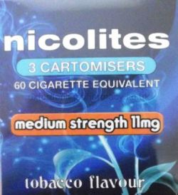 Nicolites 11mg 3 Cartomisers