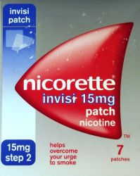 Nicorette Invisi 15mg 7 Patches