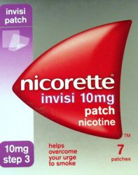 Nicorette Invisi 10mg 7 Patches