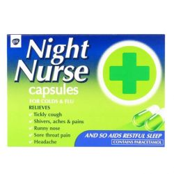 Night Nurse 10 Capsules