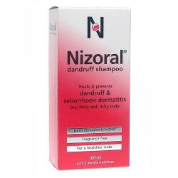 NIZORAL shampoo 20mg/ml 100ml