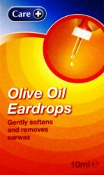Care Olive Oil Eardrops 10ml