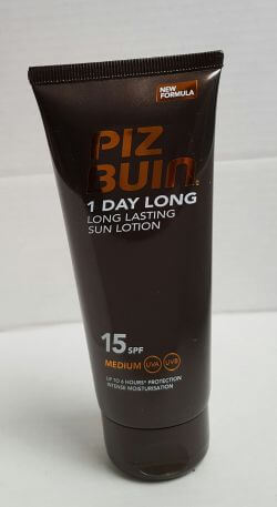 PizBuin One Day Long Lotion SPF15 100ml