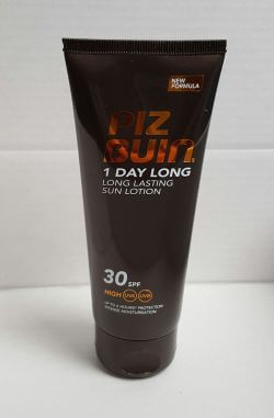 PizBuin One day Long Lotion SPF30 100ml