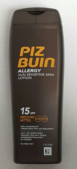 Pizbuin Allergy Lotion SPF15 200ml