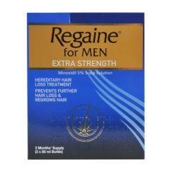 Regaine For Men Extra Strength Solution 1 Year Supply 4 x Triple Packs