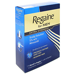 Regaine For Men Extra Strength Scalp Solution 60g