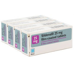 Sildenafil 25mg 32 Tablets