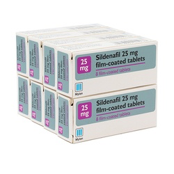 Sildenafil 25mg 64 Tablets