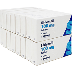Sildenafil (Sandoz) 100mg 64 Tablets