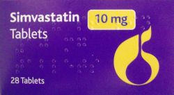 Simvastatin 10mg 28 Tablets