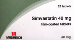 Simvastatin 40mg 28 Tablets