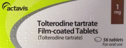 Tolterodine 1mg 56 Tablets